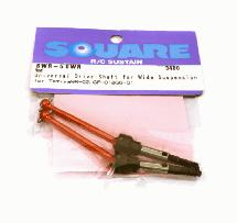 Square R/C Universal Drive Shaft for Wide Suspension (for Tamiya Wild Willy 2)