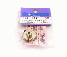 Square R/C HV700 super-hard Aluminum pinion Gear, 06-Module (for Tamiya) 29T