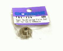 Square R/C Boron-Coated Aluminum Pinion Gear, 06-Module (for Tamiya) 25T
