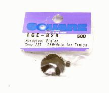 Square R/C Hard Steel Pinion Gear, 06-Module (for Tamiya) 23T