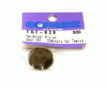 Square R/C Hard Steel Pinion Gear, 06-Module (for Tamiya) 26T