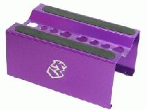3Racing Aluminium Setting Stand for 1/8 EP / GP - Purple