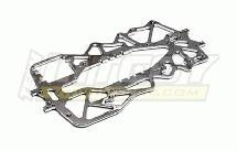 Evolution-4 Alloy Chassis for Traxxas T-Maxx (4909, 4910 v3 v4)