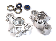 Alloy Steering Blocks for 1/10 Revo, E-Revo, Summit, Slayer (10.75mm pivot ball)