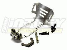 Titanium Evo-3 Rear Skid Plate for 1/10 Revo 3.3, E-Revo (-2017) & Slayer (both)