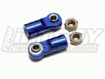 Alloy 4mm Ball End (2) for Revo, E-Revo, Summit & Slayer(both) MSR6 Type Shocks