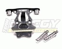 Billet Machined Rear Body & Pin Mount for 1/16 Traxxas E-Revo, Slash