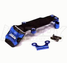 Billet Machined Steel Rear Skid Plate for 1/16 Traxxas E-Revo, Slash, Summit, Rally