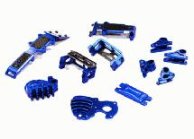 Billet Machined Stage 2 Conversion Set for 1/16 Traxxas E-Revo, Slash & Summit