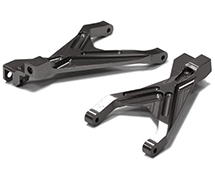 Billet Machined T2 Front Lower Arm (2) for 1/16 Traxxas Slash VXL & Rally