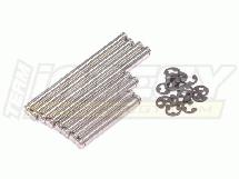 Stainless Suspension Pin Set for HPI 1/10 RS4