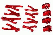Billet Machined Type IV Suspension Conversion Set for 1/16 Traxxas Slash