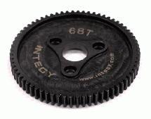 Steel 0.8 Spur Gear 68T for 1/10 E-Revo, Summit, T-Maxx 3.3 & BL E-Maxx