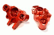 Steering Block (2) for E-Revo, Maxx & Summit w/T4122 Snowmobile & Sandmobile Kit