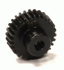 Billet Machined 28T Steel Pinion Gear for HPI Savage XS Flux