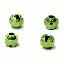 Billet Machined Alloy 12mm Hex Wheel Hub (4) for HPI Savage XS Flux