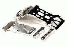 Steel Rear Skid Plate for HPI 1/12 Savage XS Flux