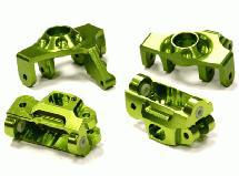 Billet Machined Steering Knuckle & Caster Block Set for HPI 1/12 Savage XS Flux
