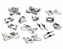 Billet Machined Suspension Set Package for HPI 1/12 Savage XS Flux