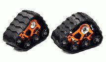 Rear Snowmobile & Sandmobile Conversion for HPI 1/12 Savage XS Flux