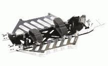 Billet Machined Alloy Chassis Set for HPI 1/10 Blitz