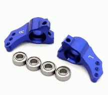 Billet Machined Rear Hub Carriers for HPI 1/10 Blitz Short Course Truck