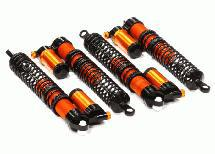 Rebound Adjustable Piggyback Shock(4)for HPI Savage X 4.6 2011, Flux & Savage XL