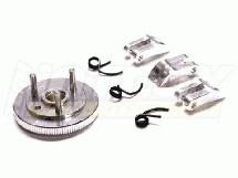 7075 Type 3-Piece Clutch+Flywheel for HPI Savage-X, 21 & 25