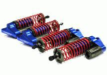 MSR6 Blue Piggyback Shock (4) for LST, LST2 & AFT