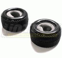 Micro Pin Tire (2) for 1/18 Truck (O.D.=56mm)