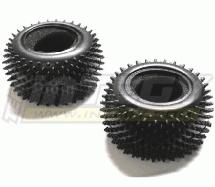 Mini Pin Tire (2) for 1/18 Truck