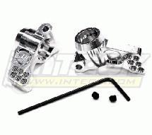 Billet Machined 1 Degree Toe Rear Hub Carrier for Associated SC10 2WD