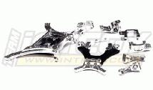 Billet Machined PRO Alloy Conversion Set for Associated SC10 2WD