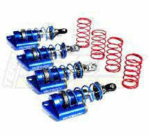 MSR6 Blue Piggyback Shock (4) for Jato (L=81mm)