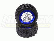 Billet Alloy Type I Front Wheel & Tire (2) for Jato