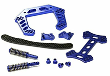 V2 Front Shock Tower for Traxxas 1/10 Stampede 2WD XL5 & VXL