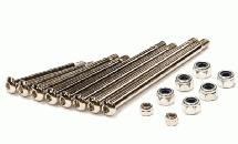 Suspension Pin Set (8) for Electric Stampede 2WD, Rustler 2WD, Bandit, Slash 2WD