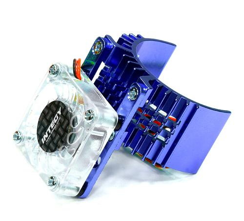 Motor Heatsink 540 Size w/ Cooling Fan for Slash, Stampede 2WD, Rustler & Bandit