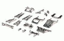 Billet Machined Alloy Conversion Set for Traxxas 1/10 2WD Monster Jam Series