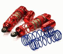 V2 MXR9 Front Piggyback Shocks for Traxxas Stampede, Rustler 2WD & Slash
