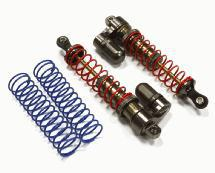 V2 MXR9 Rear Piggyback Shocks for Traxxas Stampede, Rustler & Slash