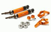 Heavy-Duty 6mm Wheel Axle Conversion for 1/10 Stampede 2WD, Rustler, Monster Jam
