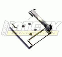 Alloy Front Skid Plate for Losi Micro-T, Micro Baja & Raminator