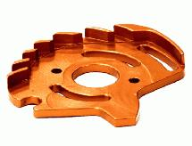 Billet Machined Motor Plate for Traxxas 1/10 Slash 4X4 non-LCG (6808)