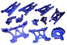 Billet Machined Alloy Conversion Set for Traxxas 1/10 Slash 4X4 (non-LCG)