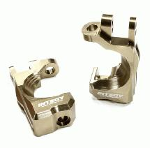 Billet Machined T2 Caster Block (2) for 1/10 Stampede 4X4 & Slash 4X4