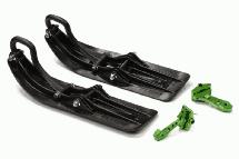 Front Sled Attachment Set for Traxxas 1/10 Stamped 4X4 & Slash 4X4