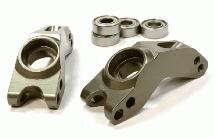 Billet Machined T3 Rear Hub Carrier(2) for Rustler 2WD, Stampede 2WD & Slash 2WD
