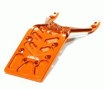 Billet Machined 4mm Rear Skid Plate for 1/10 Stampede 2WD & Slash 2WD