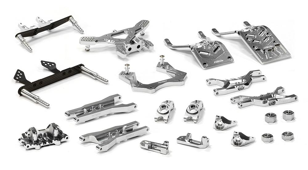 Billet Machined T3 Complete Suspension Kit for 1/10 Stampede 2WD for